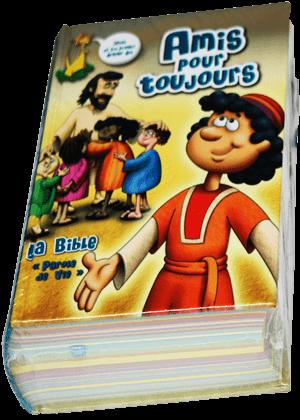 Amis-pour-toujour- bible en version parole de vie francais facil index vocabu7500