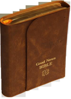 Good-news-Bible-avec pochette bordure doré 7000