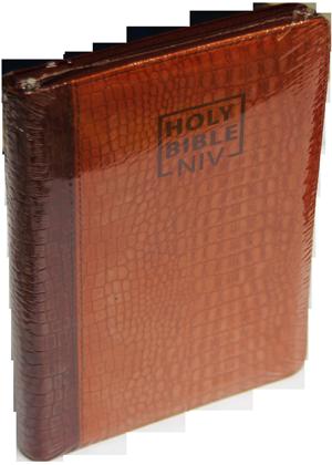 Holy-Bible-New international version bordu avec onglet cover souple 12000